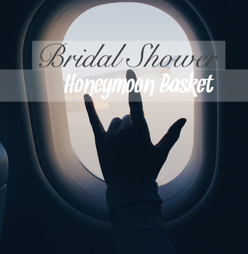 Bridal Shower Honeymoon Basket